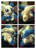 Shiny Zangoose pokedoll by LRK-Creations