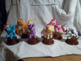 Statuette group shot, all finished by McMesser