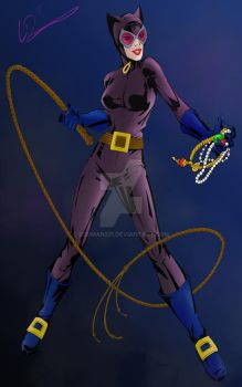 Catwoman!!-newer by eggman231