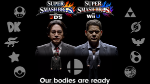 Super Smash Bros. - Our bodies are ready by R-One-92