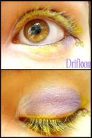 Pokemon Makeup: Drifloon by Steffmiesterx13