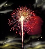 Canfield Fireworks Premade by WDWParksGal-Stock