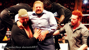 Triple H injury by lady-pokerface