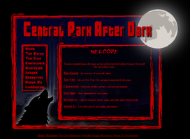 Werewolf RPG Web Template v2 by ScaperDeage