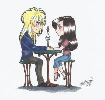 Lovey dovey date by Poisonisnotgoodforu
