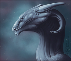 The creature of the night by ulven-f