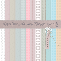Digital Paper Set by adorabless