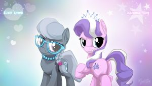 Silver Spoon and Diamond Tiara 1920 by mysticalpha