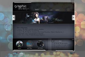 graphic design web interfaces by omeruysal