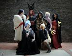 Villains Assemble! by EveilleCosplay