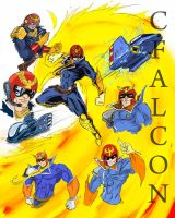 Captain Falcon by Shoelessteve
