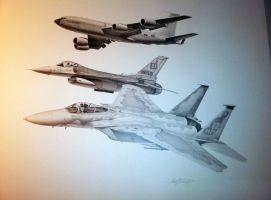Test Pilot Retirement Drawing by Sketchh22