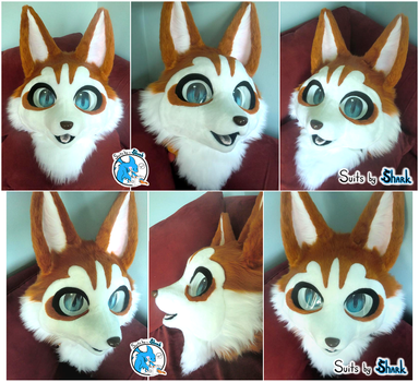 Kemono Chibi Red Husky Fursuit ~SOLD! by TwerkOnThatShark