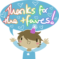 Thanks for the Faves! by NadjaGreen