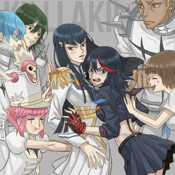 Kill La Kill by cosom