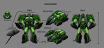 Ironcrusher Char Sheet Color by Laserbot
