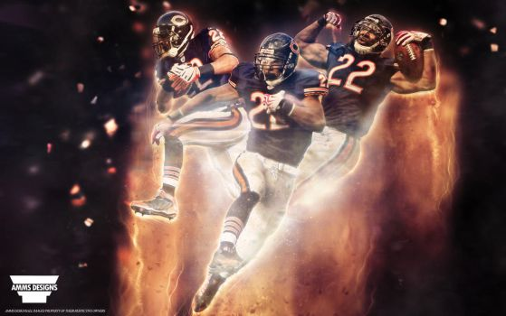 Matt Forte 'Love For The Game' Wallpaper by AMMSDesings