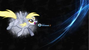 11- Derpy!! (1920x1080) by Drunya-ponylover