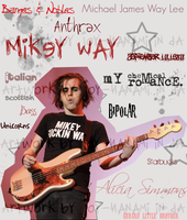 Mikey Way Collage by Joy-Nanami