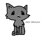 Whitetail (Warriors OC) Chibi by feathery-blue-otaku