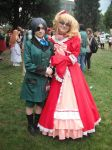 Ciel and Lizzy! by ZoeyJayne