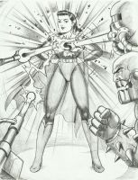 invencible Superwoman by rogelioroman