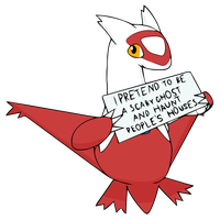 Pokemon Shaming - Latias by Furcik