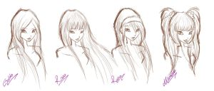 NisAra - new style sketch by CuBur