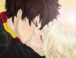 Drarry COLOURED VERSION by whenfangirlsattack