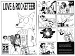 Love and Rocketeer by Joe5art