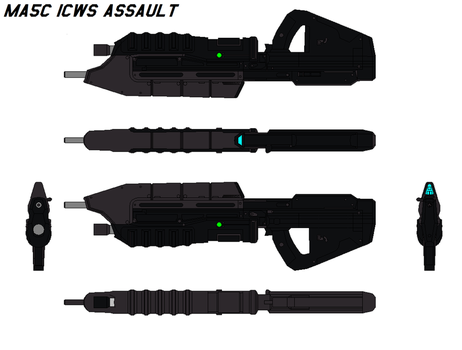 MA5C ICWS Assault Rifle by bagera3005