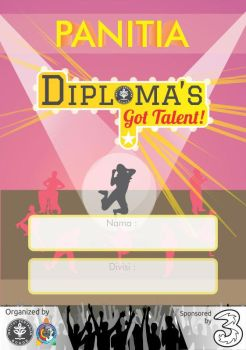 ID Card Diploma's Got Talent by dendicious