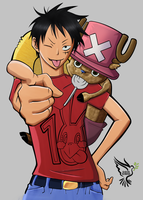 Luffy by coldheart572