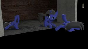 These ponies are weird. by ATGF