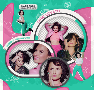 PACK PNG 541| DEMI LOVATO by MAGIC-PNGS