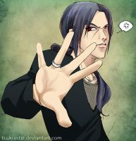 Itachi - Talk to the Hand by TsukiaStar