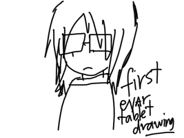 first evar tablet drawing by se-rah