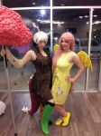 Mlp Cosplay: Discord and his Best friend! by koiykeuchiha