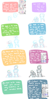 Mini Characters: TUTORIAL by blargberries