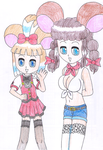 Barrette and Pepper by macaustar
