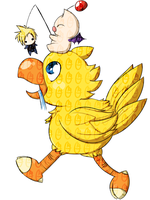 Chocobo Bait by OMGProductions