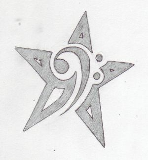 Star Tattoo Drawing