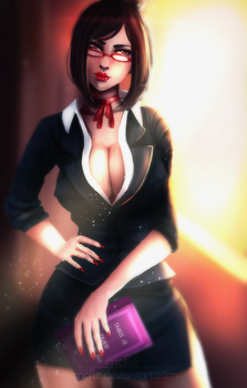 Counselor | Yandere Simulator by mcfle