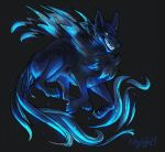 Blue Ghost COMMISH by 1skylight1