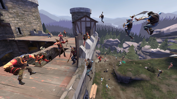 TF2: Epic DeGroot Keep by Mcl-The-Blue-Madness