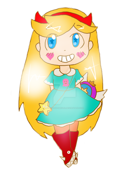 Star Butterfly by nihon-no-sakura