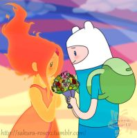 Adventure Time - Flower by Sakura-Rose12