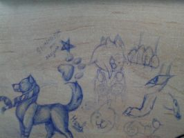 Desk art 2 by xXMarijuanaXx