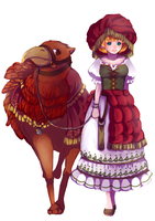 Original ethnic costume by arihato