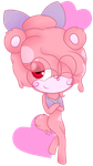 Reese the Strawberry Slime Bear by XxRealaDreamerxX
